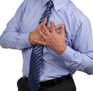szív és érrendszeri vizsgálat előtt álló ember